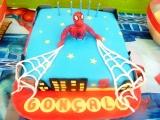 Bolo Temático Homem Aranha