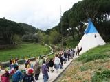 Visita à Tenda dos ͍ndios